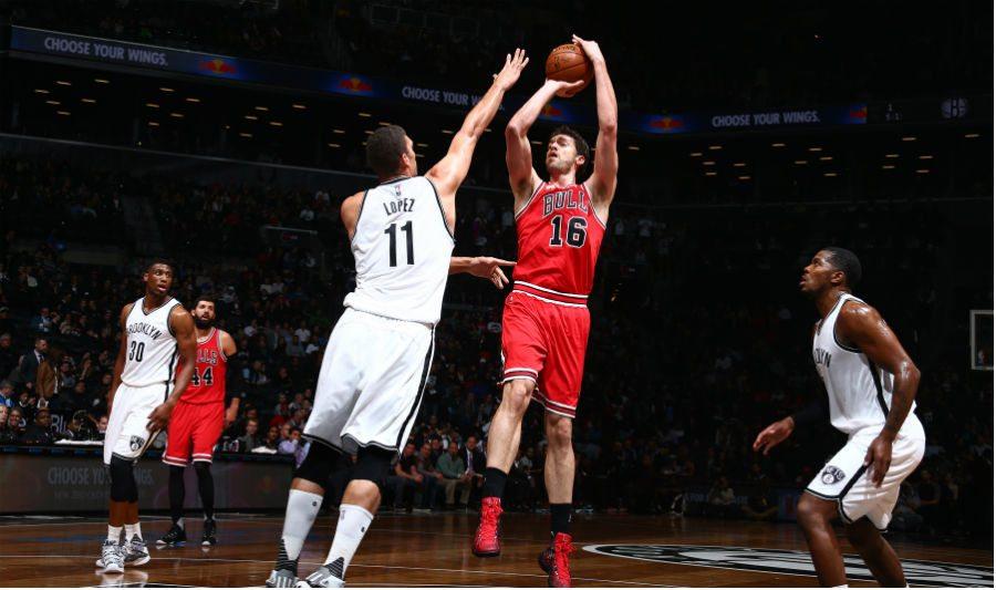 Los nuevos Bulls atropellan a los Nets (100-115). Pau y Mirotic, consistentes (Vídeo)