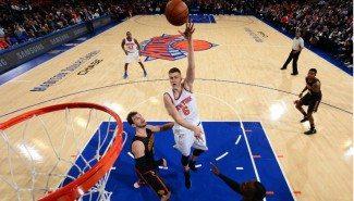 Aquí tienes las 5 mejores jugadas de la noche NBA. ¿Número 1? ¡Porzingis! (Vídeo)
