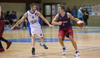 Lakovic, sobre la bocina. Mira qué triplazo para dar al Barça B el duelo de canteras