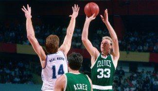 ¡Falta una semana! Revive el Real Madrid-Boston Celtics de hace 27 años