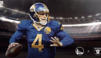 Insólito. Así serían los uniformes NFL con logos y colores NBA. ¿Te gustan? (Fotos)