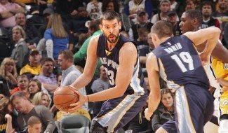 Marc (20+8) muestra el camino a los Grizzlies ante los Pacers (Vídeo)
