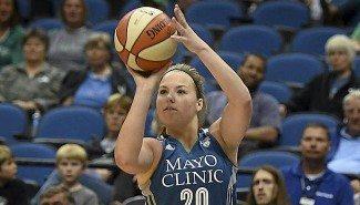 Aterriza la 'metralleta'  Tricia Liston en Salamanca. Así juega la campeona de la WNBA (Vídeo)
