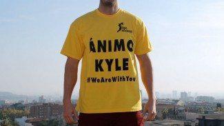 'Ánimo Kyle'. Un sentimiento unánime de 18 equipos y casi 200 jugadores