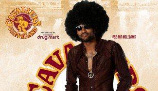 De vuelta a los 70. Flipa con la mutación de los Cavs: pelucas y pantalones campana (Vídeo)