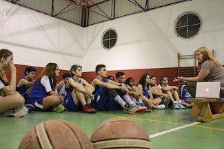 Melilla, contra la violencia de género. Charla informativa a su cantera