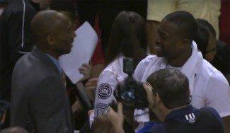 Adiós al reto de los 82. Kobe no juega en Miami ante su amigo Wade (Vídeo)