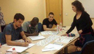Los jugadores del Sevilla, en clases de castellano. ¿Cuál es el secreto de Miljenovic?