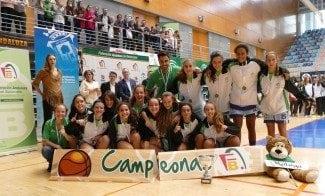 Málaga se hace con la gloria provincial en cadete femenino