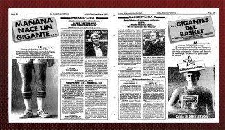Gigantes 30 años. Historias de un despegue: Jordan, Epi, Laso, Olajuwon, Tabu, Hansbrough