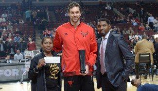 Gasol no para de ganar premios. Impacto global NBA, elegido por los jugadores (Vídeo)