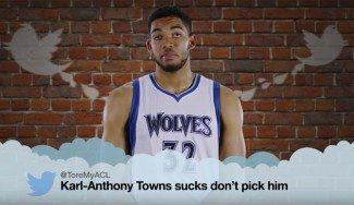 Los Timberwolves se ríen de las críticas. Mira cómo reaccionan a tuits de haters (Vídeo)