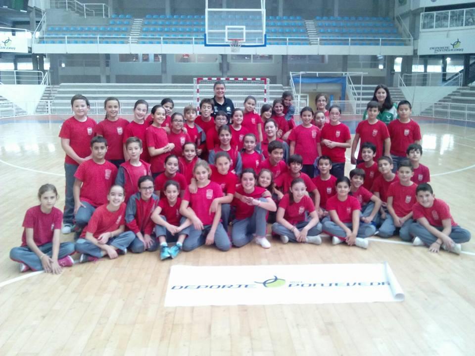 Arxil promociona a sus colegios. Visita a los colegios de Pontevedra