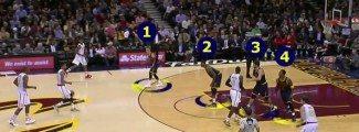 De locura. Los Cavs arrasan a los Hawks. ¡LeBron se aburre y se queda en el banquillo! (Vídeo)