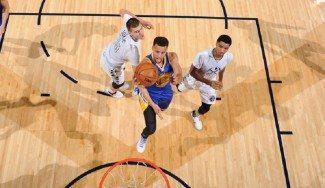 Ya son historia. Los Warriors ganan a Denver para igualar el 15-0 de Capitols y Rockets (Vídeo)