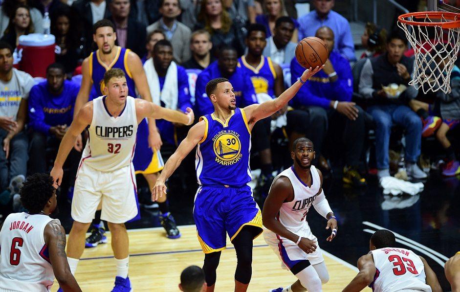 El (pen)último recital de Curry: 40 para remontar 23 puntos a los Clippers (Vídeo)