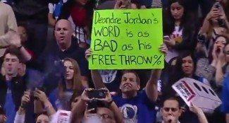 """DeAndre Jordan, abucheado y derrotado en Dallas. """"Pensé que iba a ser peor"""" (Sonoro vídeo)"""