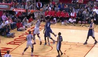 Not in my house: Tony Allen tapona a Dwight Howard y le hace el gesto de Mutombo (Vídeo)
