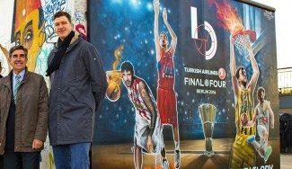 La Euroliga presenta el logo de la F4 con un grafiti en Berlín. Ricky, en la promo (Vídeo)