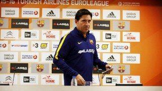 """Xavi Pascual: """"Jugamos para el espectador. Creo que van a disfrutar mucho con la nueva Euroliga"""""""
