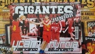 Ring!! Despierta. UCAM Murcia llega a Gigantes Junior. La pasión por el baloncesto ya está aquí.
