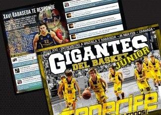 Entrevista de los lectores de Gigantes Junior a Xavi Rabaseda. ¿A quién le ha costado más defender?
