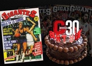 Con esta portada tal día como hoy hace 30 años nació @GIGANTESbasket. Cuéntanos tu recuerdo en #30añosGigantes