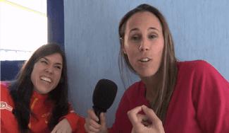 """Anna Cruz: """"Me gusta tomar la responsabilidad en las acciones finales"""" (Vídeo)"""