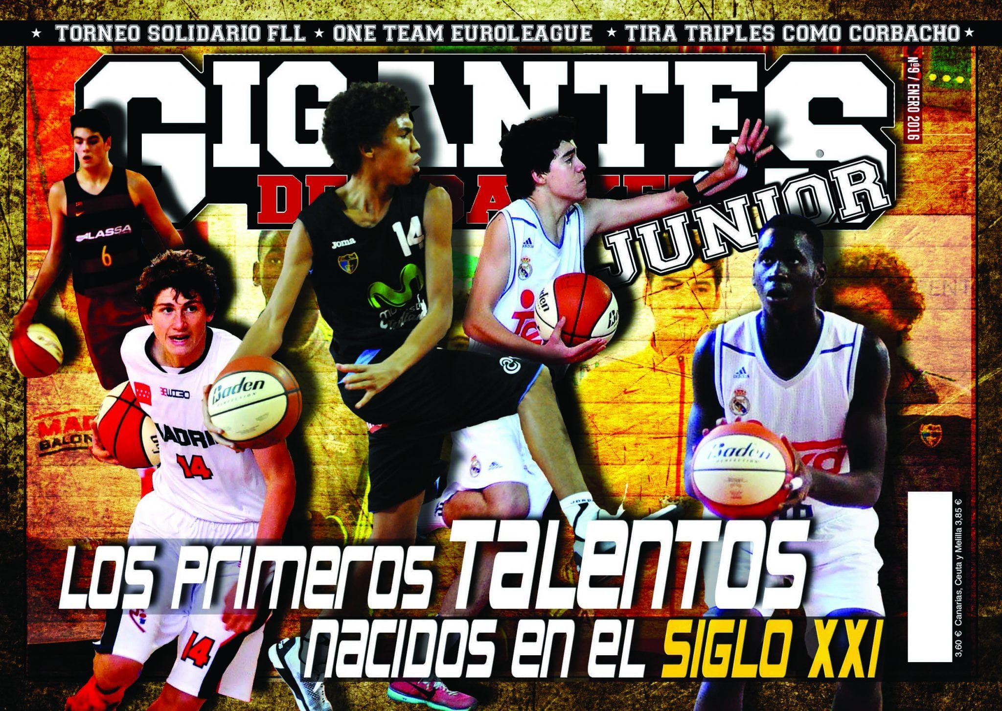 Ya está aquí el número de enero de Gigantes Junior. ¿Quiénes son los talentos del siglo XXI?