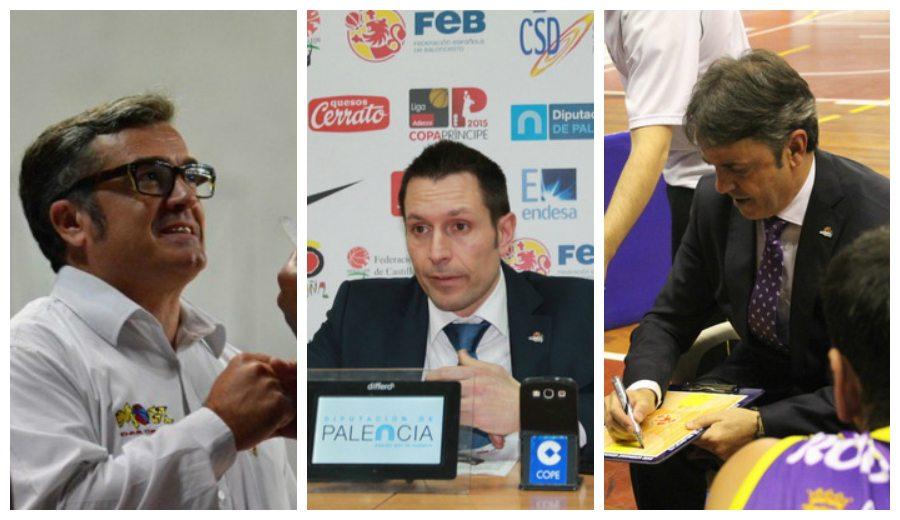 Paco García, Porfi Fisac y Natxo Lezkano, la tripleta que baraja el GBC para el banquillo