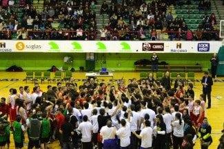 Presentación del Club Juventud Alcalá por todo lo alto. Tomás González I Trofeo Leyendas