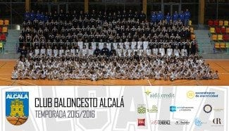 Presentación espectacular del Baloncesto Alcalá en el Polideportivo Espartales (Galería)