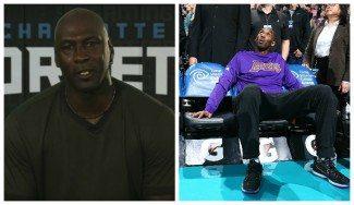 """Jordan se rinde a Kobe: """"He sido como un hermano mayor y tú como un hermano pequeño"""" (Vídeo)"""