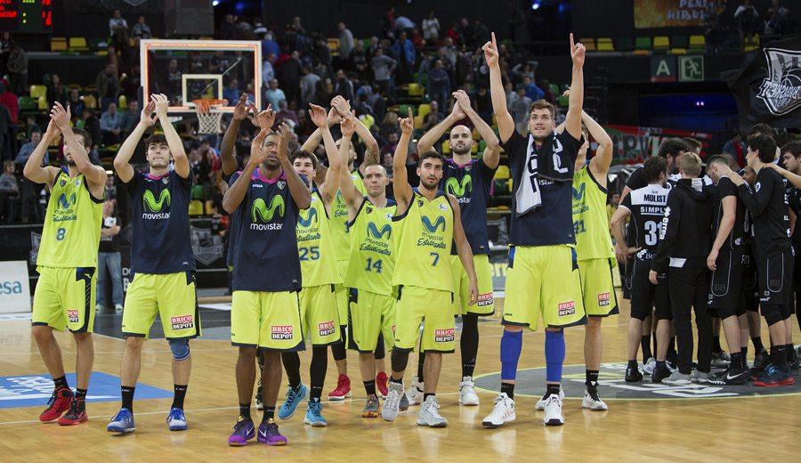 El Estu renace en Miribilla: segunda victoria, con 26 puntos de Jaime Fernández