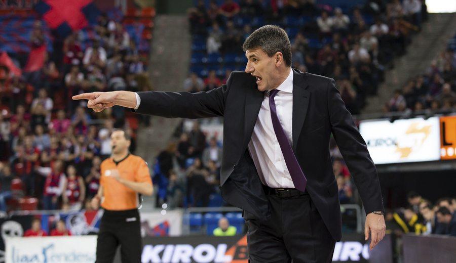 """Perasovic, tras la derrota ante el Canarias, primera del Baskonia en casa: """"Es una cura de humildad"""""""