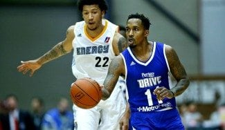 Brandon Jennings vuelve en D-League y brilla tras 11 meses KO. ¡Alley-oop a tablero! (Vídeo)