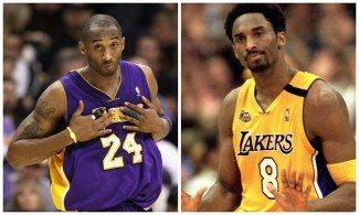 Los Lakers dudan si retirar el 8 o el 24 de Kobe. ¿Con cuál te quedarías tú?