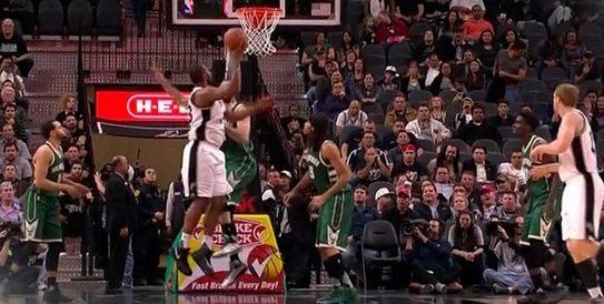 Los Spurs, jogo bonito. Boris Diaw hace un 360 y tiki-taka para mate de Ginobilli (Vídeo)