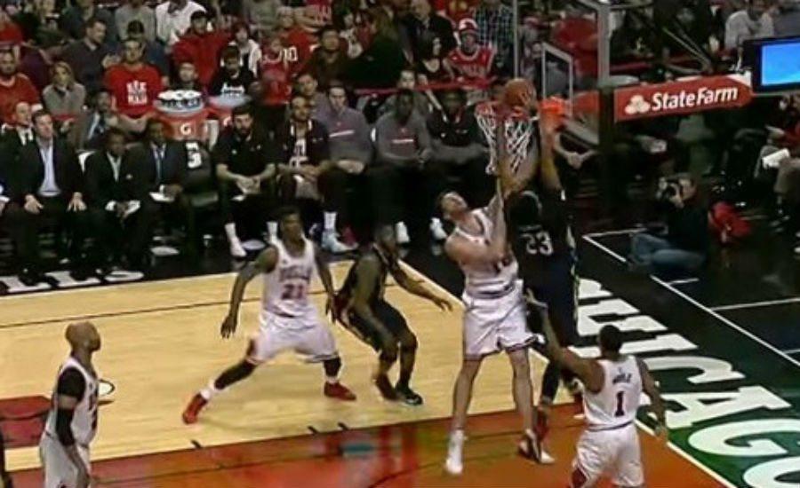 Los Bulls ganan a los Pelicans. Pau brilla pero se lleva un póster de Anthony Davis (Vídeo)