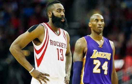 Paliza de los Rockets a los Lakers. Harden y Kobe regalan un duelo espectacular (Vídeo)