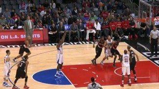 """Los Blazers provocan 34 tiros libres de DeAndre Jordan. """"Me han hecho perder la reserva de la cena"""" (Vídeo)"""