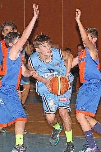 Baloncesto infantil gallego: Estudiantes Lugo Leyma Natura 70-45 Sigaltec