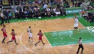 Los Bulls, un juguete para Boston, que gana y divierte. ¡Tremendo 360 de Evan Turner! (Vídeo)
