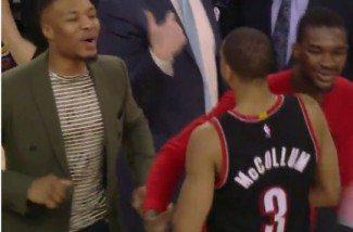 McCollum  'baila' a los Kings y asombra al lesionado Lillard. Triunfo en el duelo ante Cousins (Vídeo)