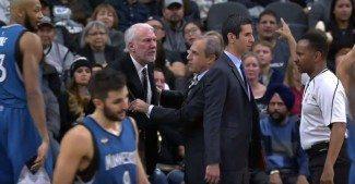 Murciélagos, Popovich en cólera, 14 asistencias de Ricky…Un gran Wolves-Spurs