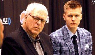 ¿Por qué no eligieron los Lakers a Porzingis? Phil Jackson les avisó y se lo acabó llevando