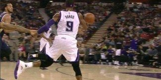 ¡Showtime en Sacramento! Rondo emula a Magic y Gay culmina como Worthy (Vídeo)