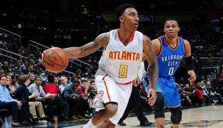 ¡Vaya duelo! Jeff Teague acepta el reto de Westbrook y gana en Atlanta (Vídeo)