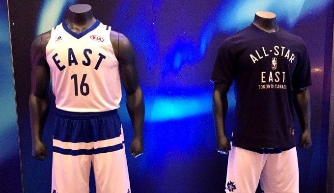 Los nuevos uniformes adidas para el All Star de la NBA