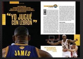 'Yo jugué con LeBron'. James a través de anécdotas de ex compañeros, en Gigantes
